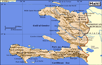 Haiti At A Glance Embassy Of Haiti - Haiti major cities map