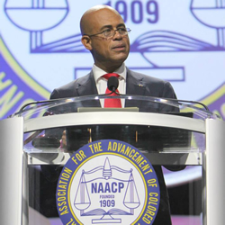 President Martelly NAACP