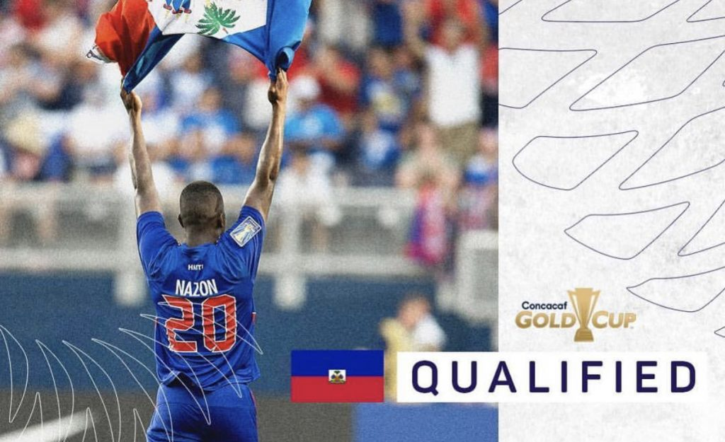 official photos 966bd 54c84 The Haitian National Football Team qualified for the 2019 ...
