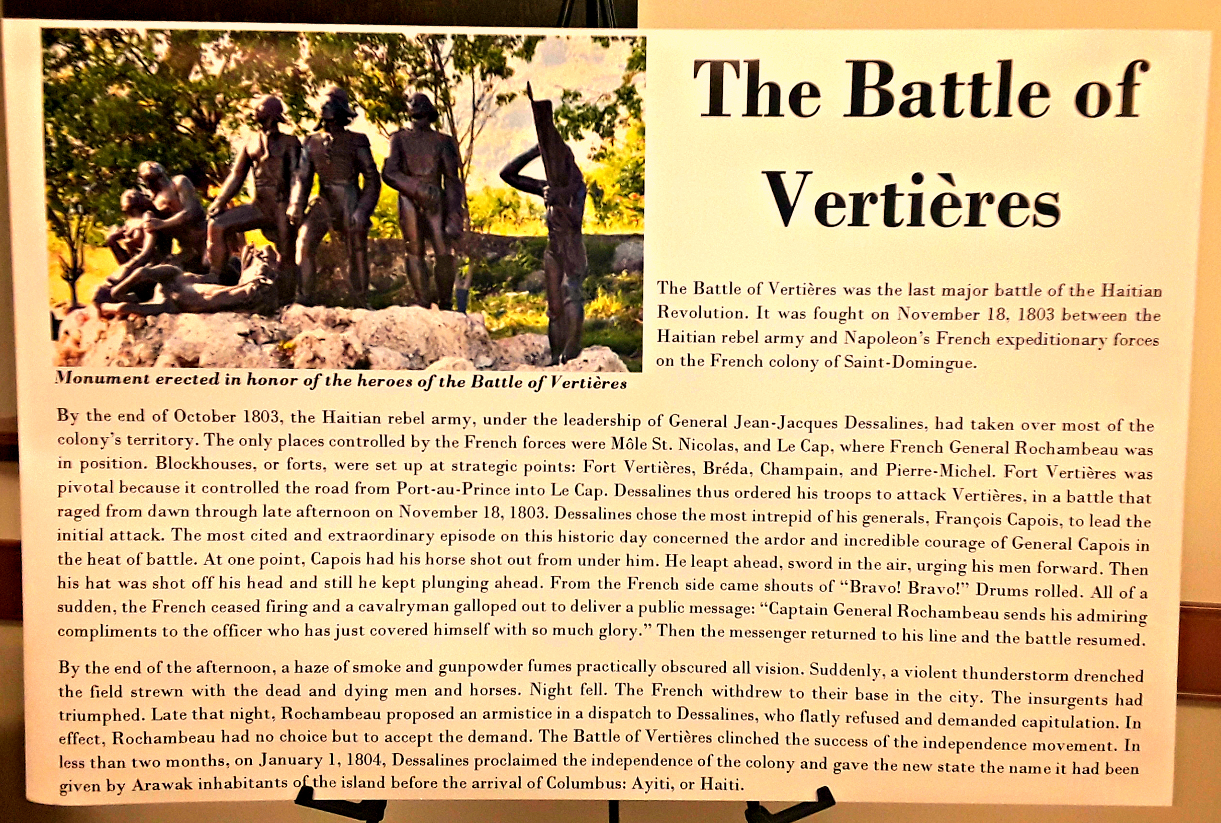 the components of revolution haitian success The haitian revolution is known as the largest and most successful slave rebellion in the western hemisphere and it was influenced by the french revolution of 1789.